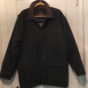 North Bay 3 Season Barn Jacket W/Button Out Lining